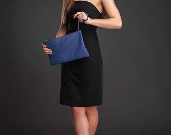 Leather clutch clutch bag leather bag clutch leather purse leather clutch bag blue leather clutch evening clutch clutch purse clutch wallet