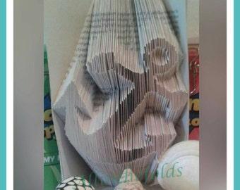 Anchor Bookfolding pattern DIY