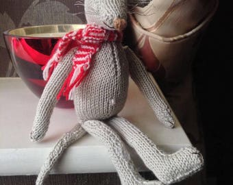 Knitted Mice Toys/Decorations
