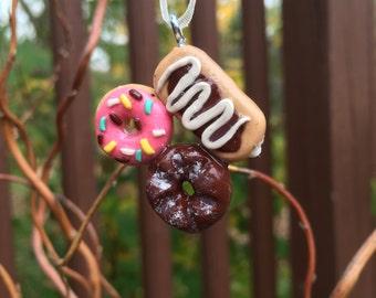 Donut Trio Charm