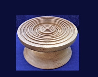 A nicely figured Tulipwood cake stand  - SALE ITEM