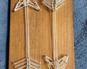 Double Arrow String Art