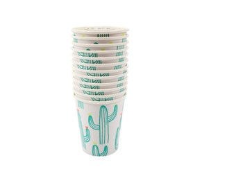Cactus Cups  l  Meri Meri Cups  l  Cactus Paper Cups  l  Summer Party Cups  l  Cactus Partyware  l Cactus Party Decor  l  Cactus Decoration