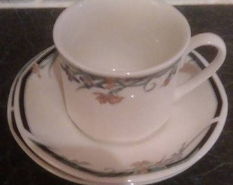 Two Royal Doulton 1980's Juno Cup, Saucer and Plate