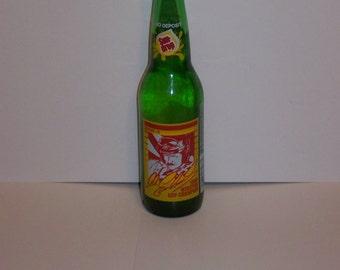 1980 Sun Drop Cola Dale Earnhardt Winston Cup Champion Bottle