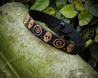 """Leather Bracelet/Anklet 8"""""""