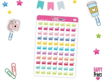 HP 58) -- Car Service Planner Stickers