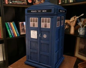 TARDIS Inspired Large Jewelry Box v.2.0