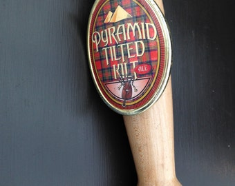 Pyramid Seasonal Tilted Kilt Ale Tap Handle Without the Top Pyramid   01327