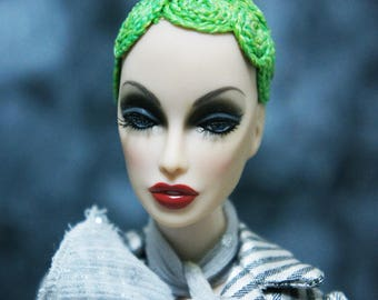 Fancy Wig for Fashion Royalty / Barbie/ Silkstone