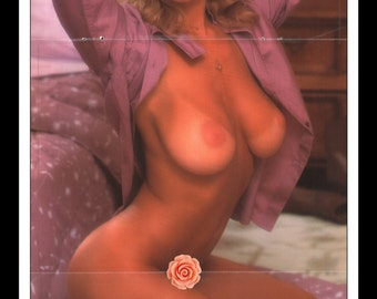 "Mature Playboy May 1982 : Playmate Centerfold Kym Malin 3 Page Spread Photo Wall Art Decor 11"" x 23"""