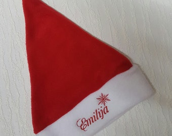 Personalised Santa Hat
