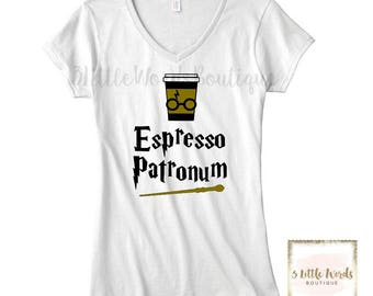 Harry Potter Espresso Patronum Shirt | Harry Potter | Coffee | Harry Potter World | Universal Studios