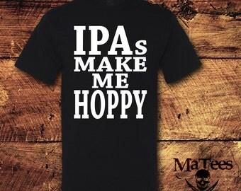 Beer, Beer Shirt, IPA Lot When I Drink, IPA Shirt, Craft Beer, Craft Beer Gifts, Craft Beer Shirt, Beer Brewing, T-Shirt, Shirt, Tee