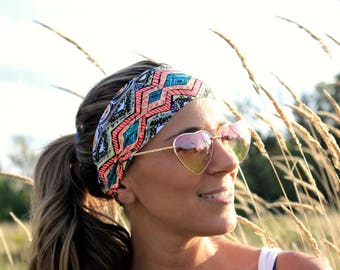 Buy 2 get 1 FREE! Yoga Headbands, HERO, Workout Headband, Running Headband, Wide Headband, Fitness Headband, yoga headband for short hair
