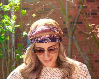 BUY 2 get 1 FREE!! Caramelized  Yoga Headwrap, Fitness Workout Headband, Running Headband, Top Selling Item, Boho Headband, Yoga Headband