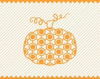 NEW! Abstract Polka Dot Pumpkin Svg file, Polka Dot Pumpkin for Vinyl Cutters,Fall DXF, Halloween SVG, High Quality Printable File, Scalable