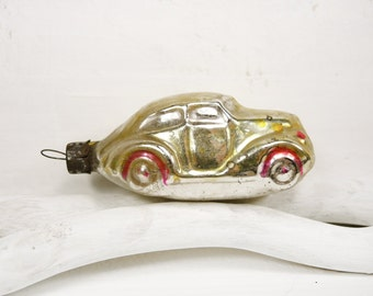 Vintage Christmas Ornament Glass Christmas Ornament Tree Decoration Car t166