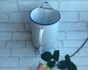30%, Antique French Enamelware fontaine