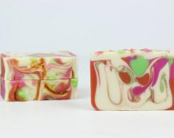 Soap Guava Fig   Cold Process Soap   Bar soap   Bath and beauty