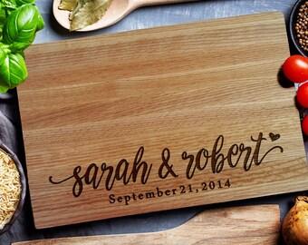 Custom Cutting Board, personalized cutting Board, Personalized wedding gift (207)