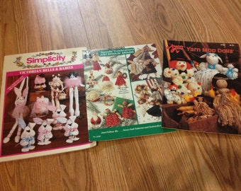 3 Craft books, Pattern books