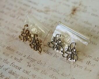 Vintage Kim Craftsmen Earrings // New Old Stock // NWT // Filigree Earrings // Choose Your Color // Kim Craftsmen Studs // 70s Earrings