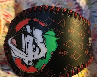 The Joker baseball cuff bracelet