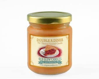 Double R Diner - Twin Peaks Inspired Scented Soy Candle