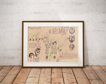 Medium - My Little Pony Art Print
