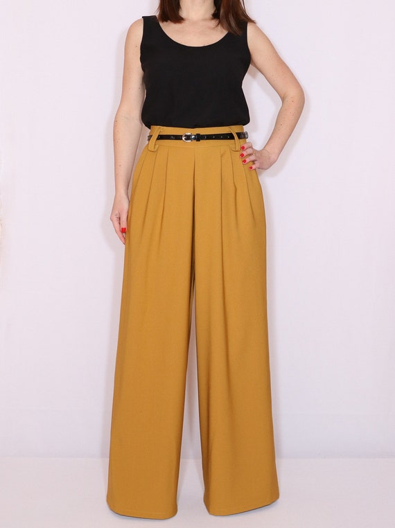 Lane Bryant Bright Yellow Casual Pants wide Leg bottom Trousers 14R. Lane Bryant · 14 · Casual Pants. $ Buy It Now. Free Shipping. Lane Bryant Size 24 Yellow Wide Leg Pants Crepe Trouser Career Dress Pants. New (Other) $ Buy It .