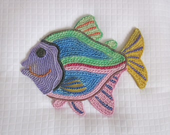 TROPICAL FISH WALLHANGING Resort Memorbilia
