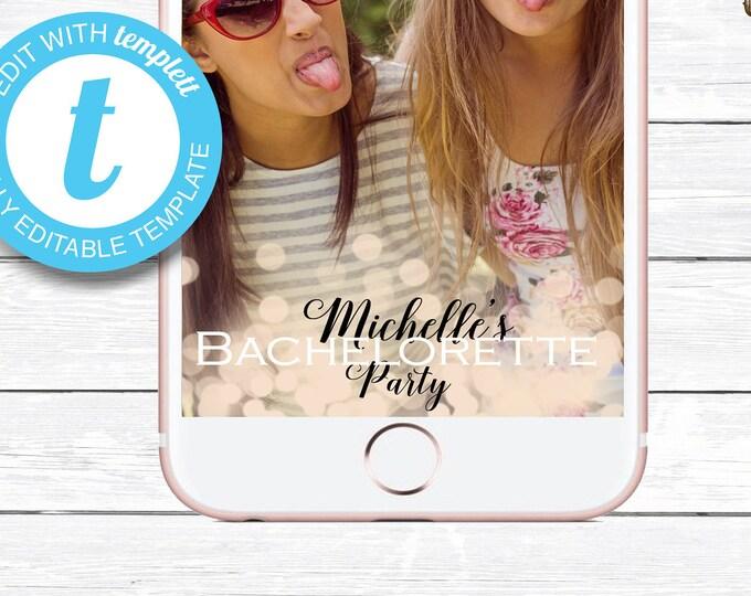 Bachelorette Snapchat Filter, Bachelorette Geofilter, Bachelorette Party Snapchat, Custom Snapchat, Bachelorette Party Snapchat Geofilter