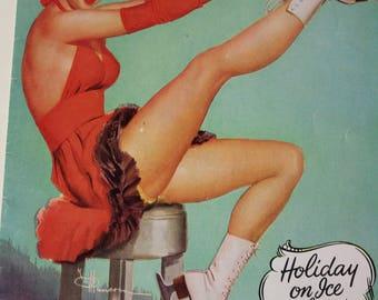 Holiday On Ice of 1953 souvenir program (P17)