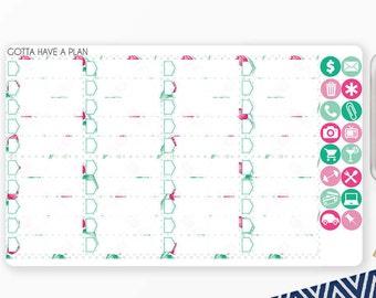Planner Stickers Easter Basket Checklists for Erin Condren, Happy Planner, Filofax, Scrapbooking