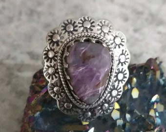 Charoite Ring, Size 6