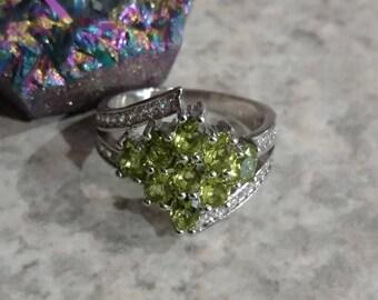 Peridot Ring Size 5 1/2