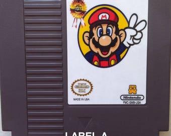 Super Mario Bros. 2 Japan / Lost Levels - NES Reproduction
