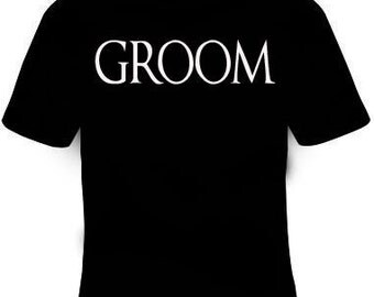 Groom T-Shirt Free Fast Shipping