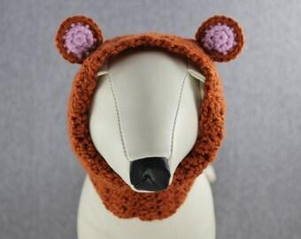 Crocheted Snood - Rusty Teddy