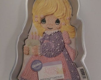 New 1993 Wilton Cake Pan Precious Moments With Insert 2105-9365