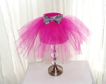 Ballerina Tutu Lamp/Lamp/Princess Room/Lighting/Accent Lamp/MVCraftsWithLove/Nursery Decor/Girls Room Decor/Desk Lamp/Modern Lighting