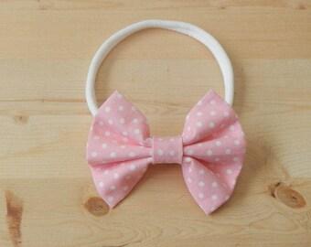 Pink Bow Headband, Pink Headband, Bow Headband, Baby Headband, Headband