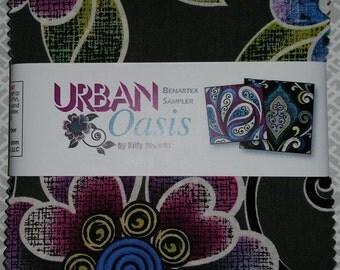 Urban Oasis - Charm Pack - Benartex - Modern Brights