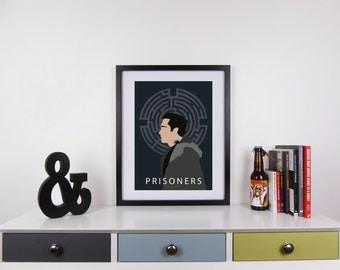 Prisoners Print, Minimalist Movie Poster