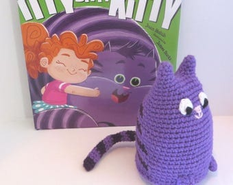 Crochet Kitty with storybook Itty Bitty Kitty