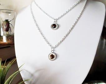 charming ladybug necklace