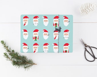 Whimsical Santa Wrapping Paper