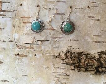 Kingman Turquoise Earrings Design 16