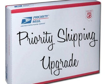 PRIORITY 1-2 day SHIPMENT